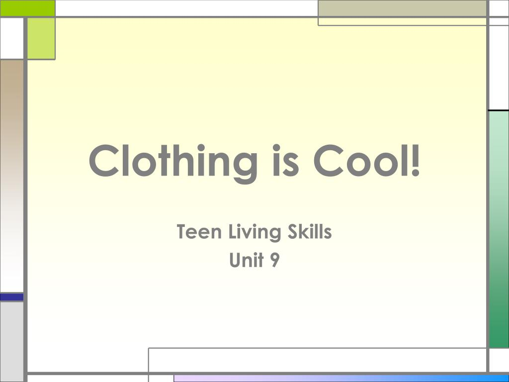 Clothing is Cool!