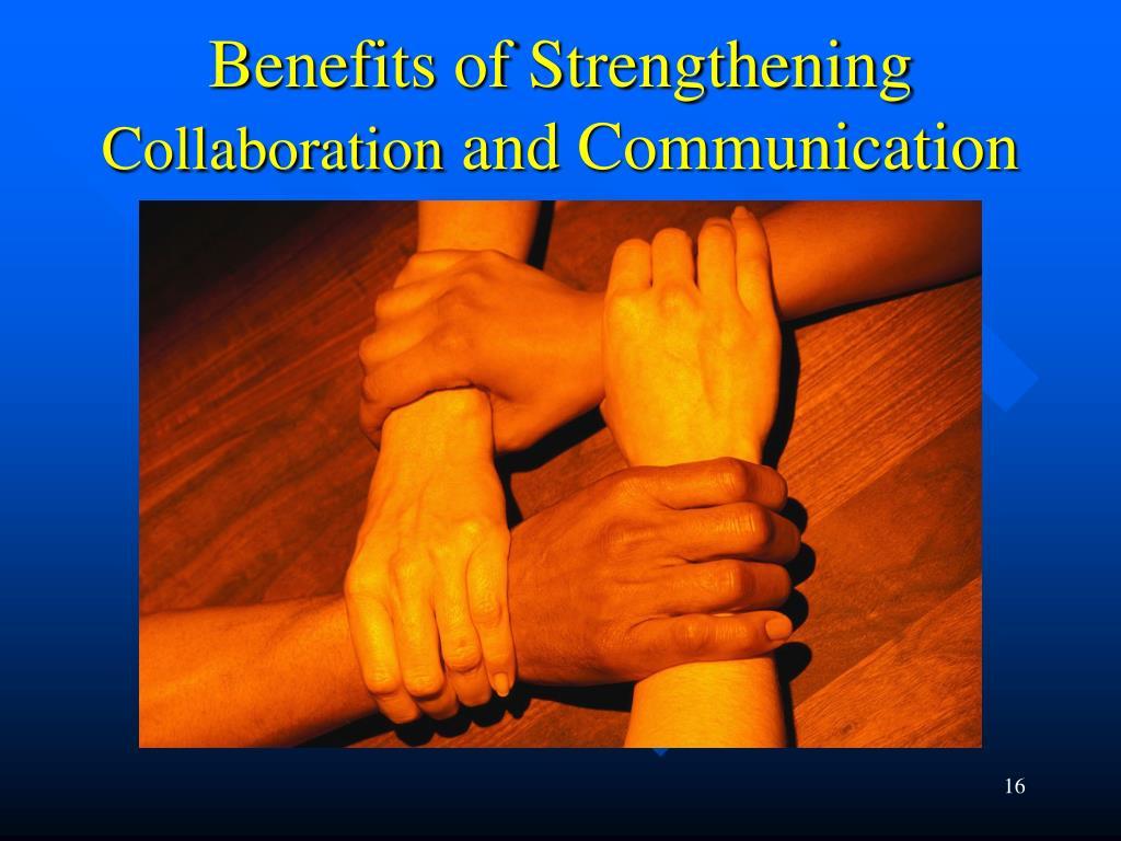 Benefits of Strengthening