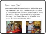 teen iron chef