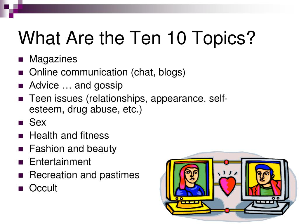 What Are the Ten 10 Topics?