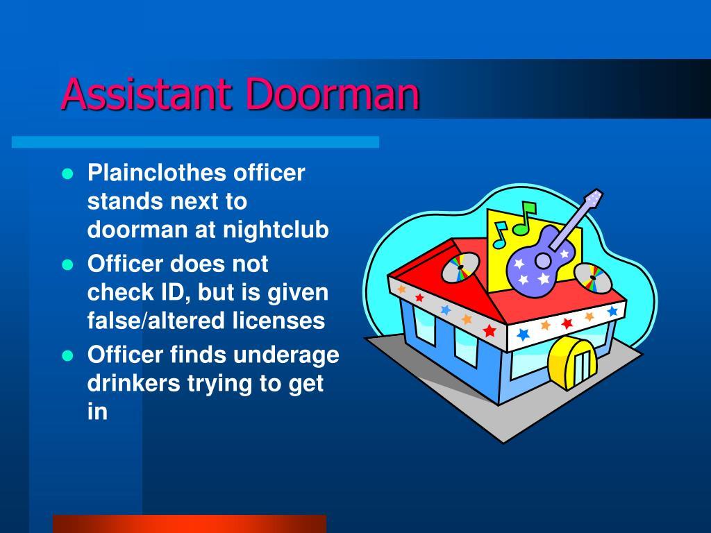 Assistant Doorman