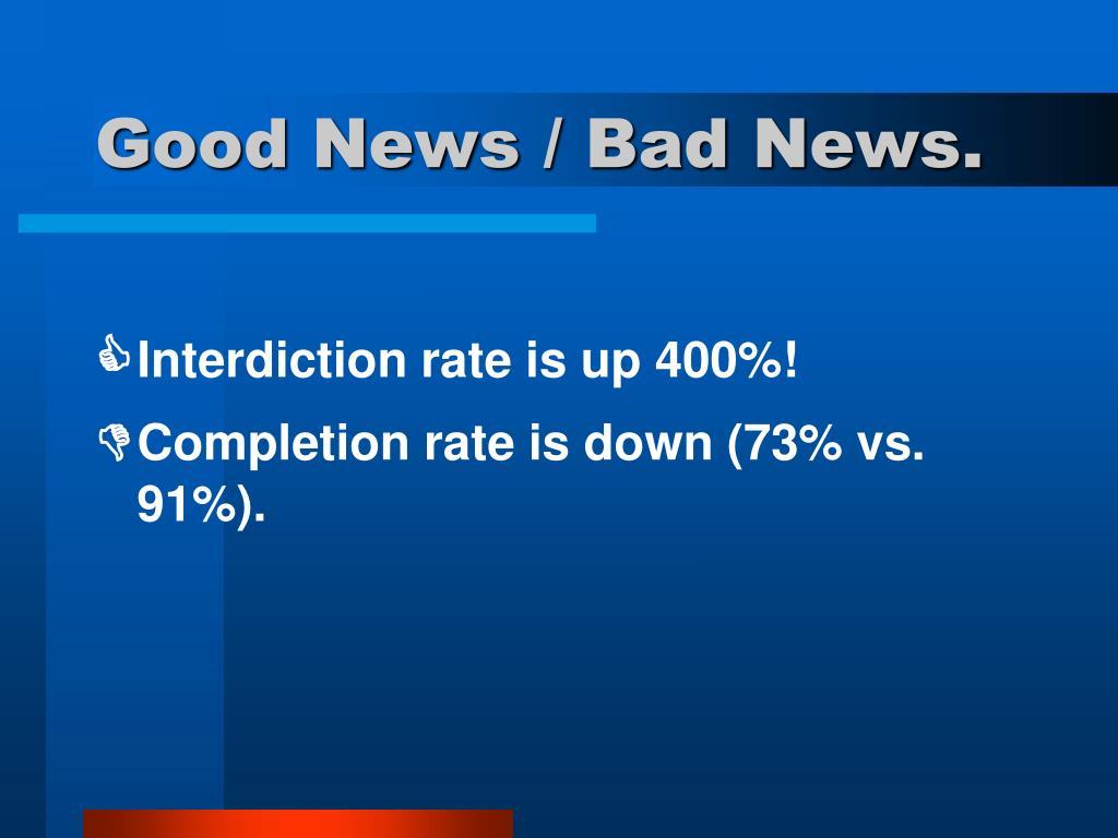 Good News / Bad News.