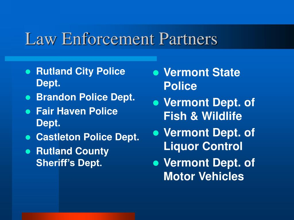 Rutland City Police Dept.