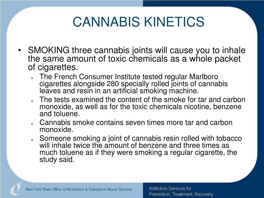 CANNABIS KINETICS