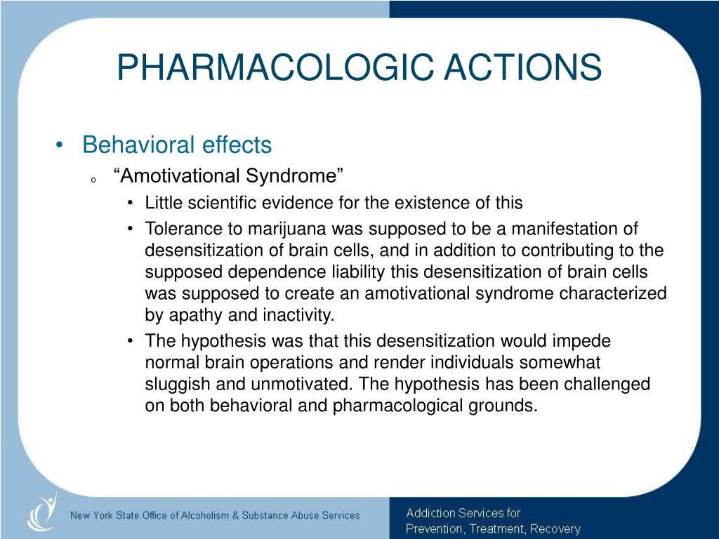 PHARMACOLOGIC ACTIONS