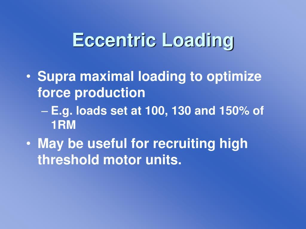 Eccentric Loading