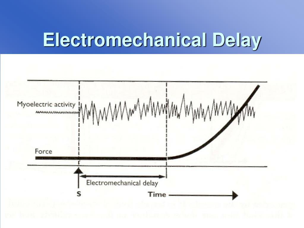 Electromechanical Delay