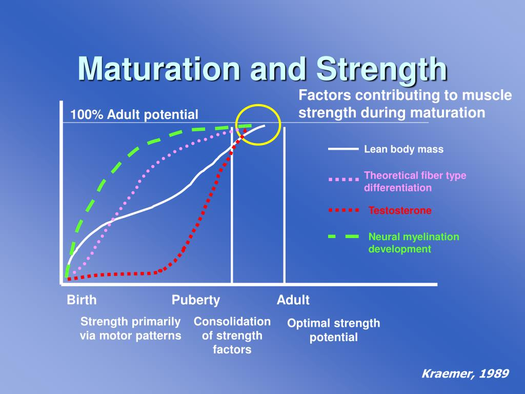Maturation and Strength