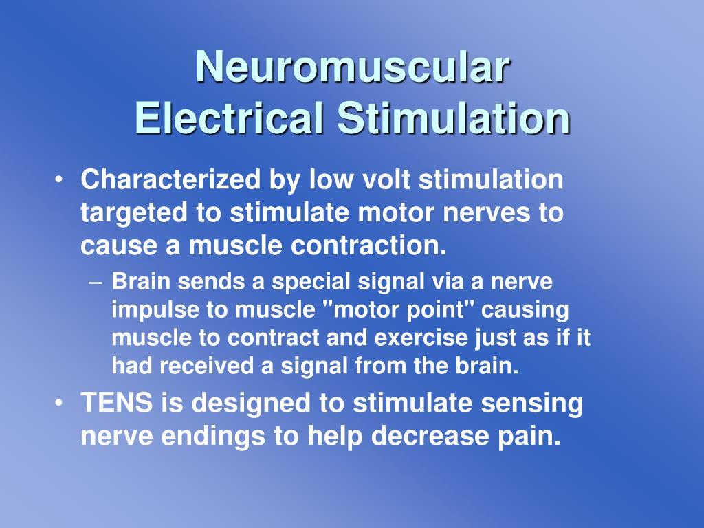 Neuromuscular