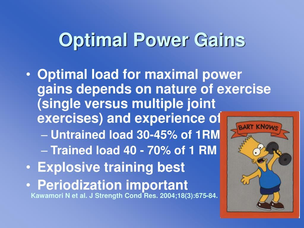 Optimal Power Gains