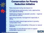 conservation for poverty reduction initiative2
