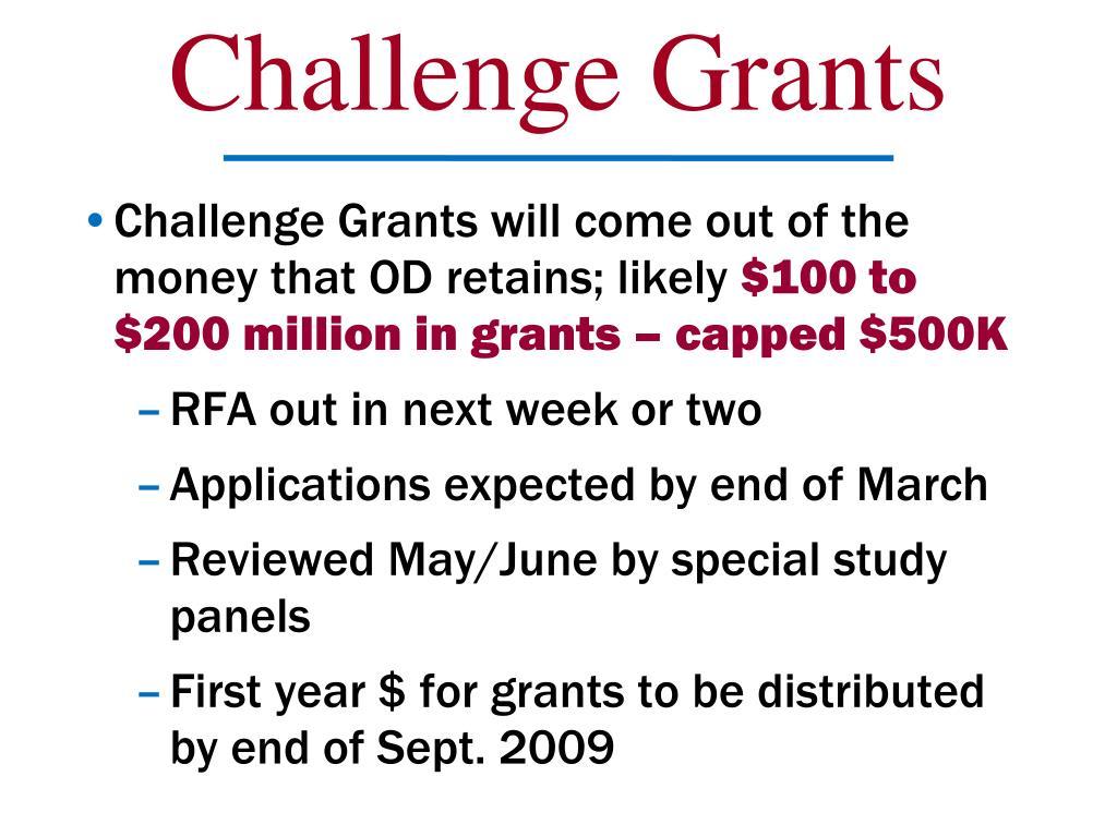 Challenge Grants
