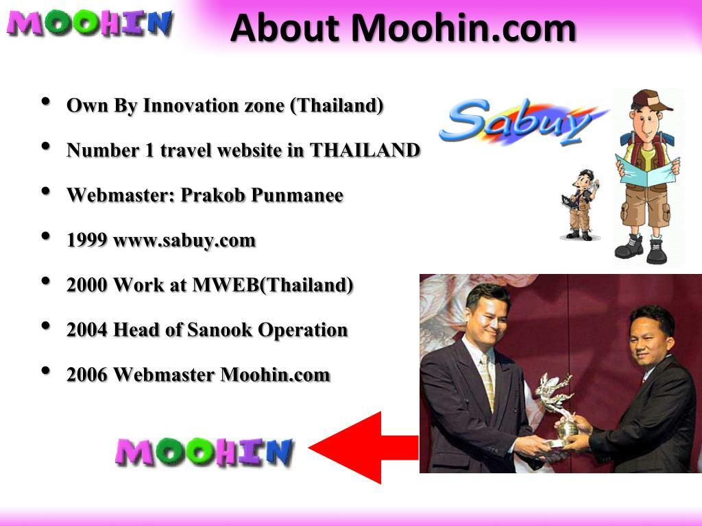 About Moohin.com