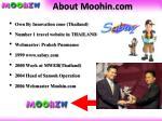 about moohin com