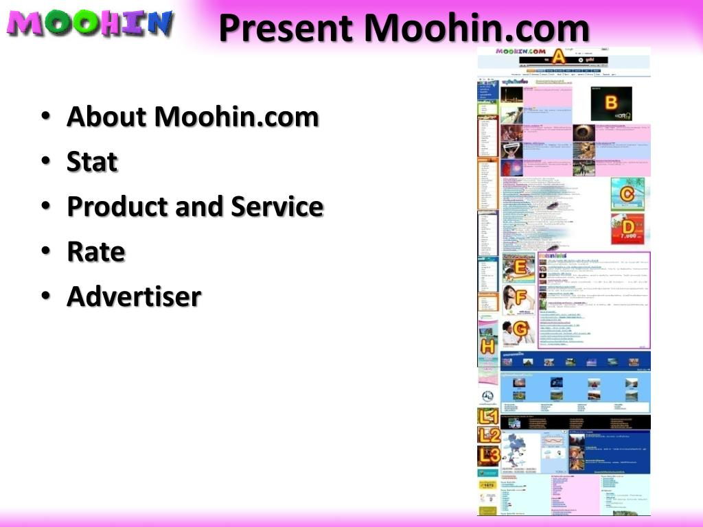 Present Moohin.com