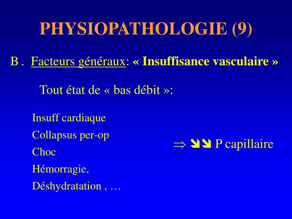 PHYSIOPATHOLOGIE (9)