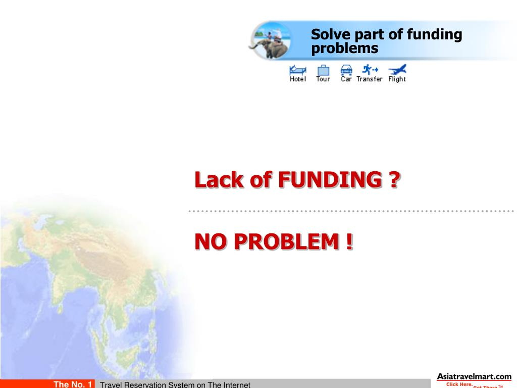 Solve part of funding problems
