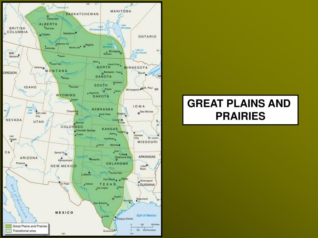 GREAT PLAINS AND