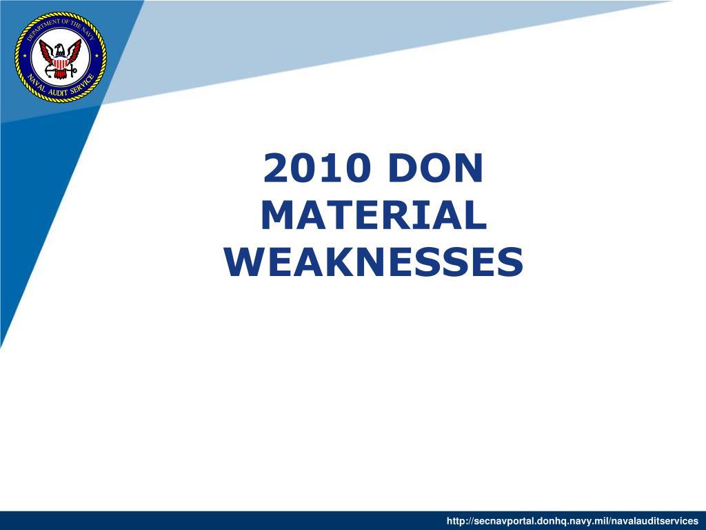 2010 DON