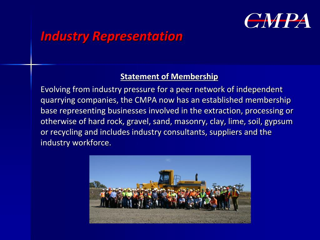 Industry Representation