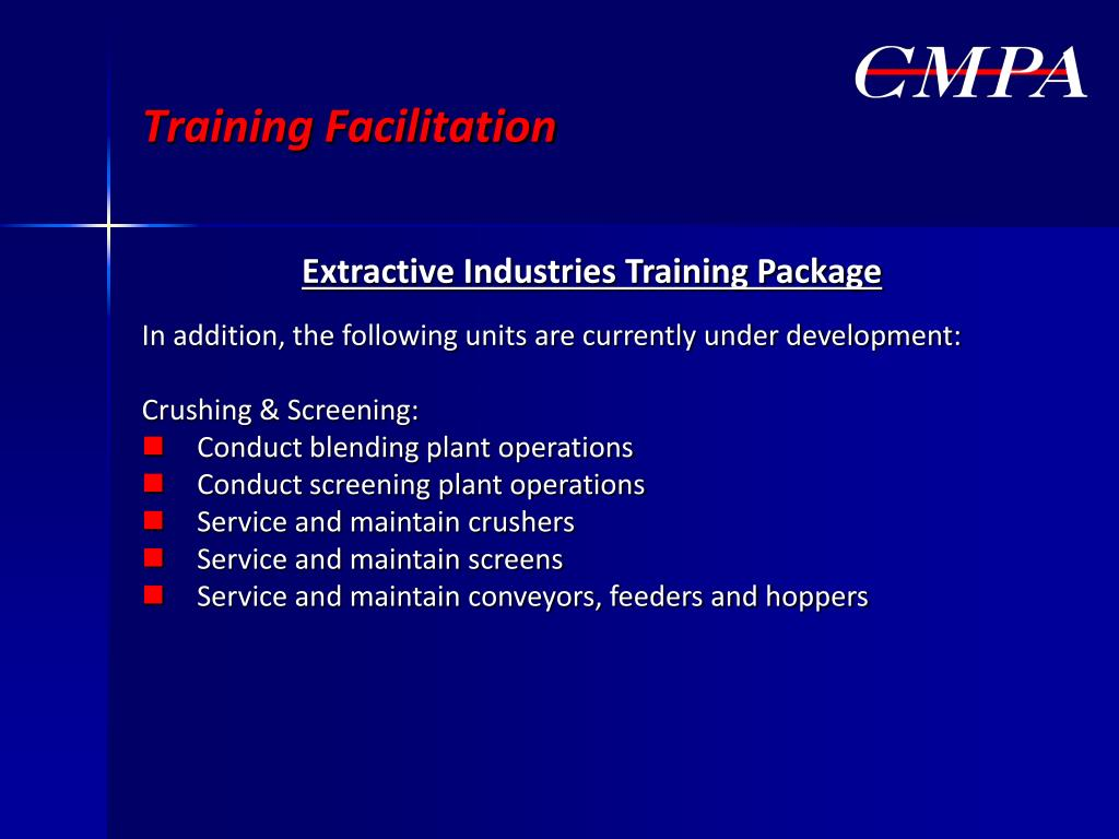 Training Facilitation