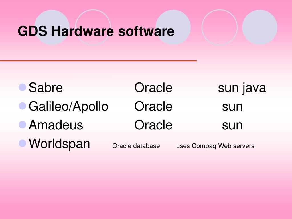 GDS Hardware software
