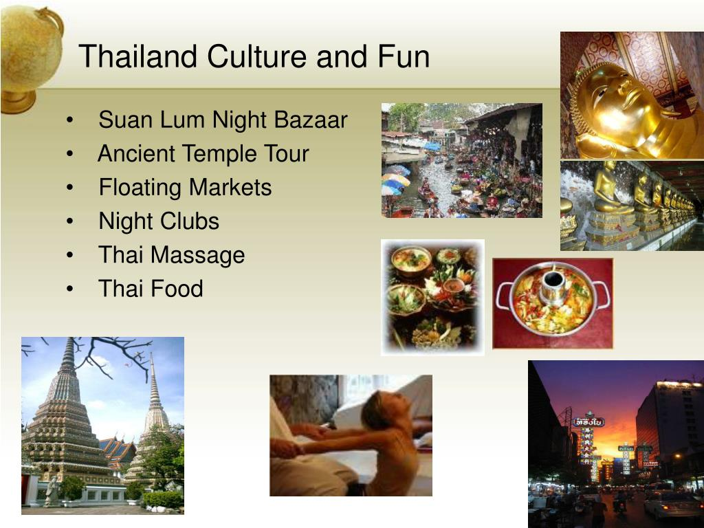 Thailand Culture and Fun