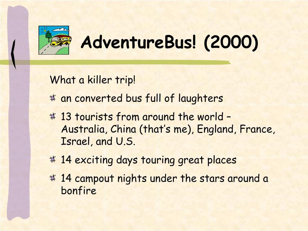 AdventureBus! (2000)