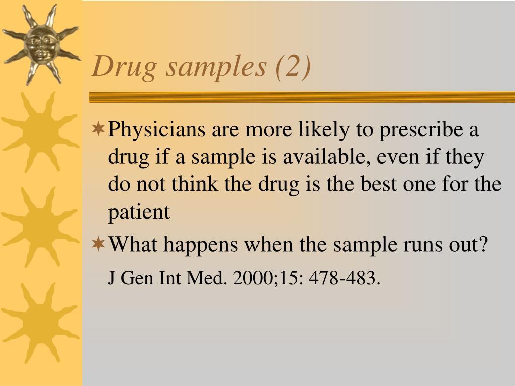 Drug samples (2)
