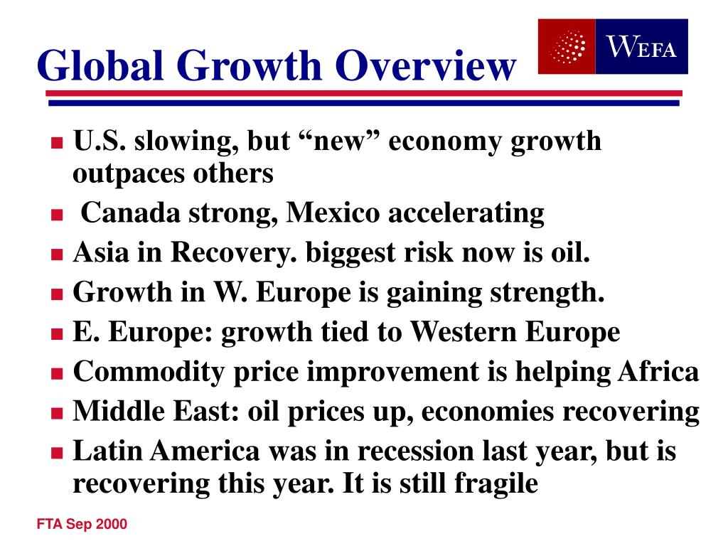 Global Growth Overview