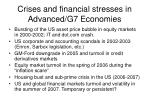 crises and financial stresses in advanced g7 economies35