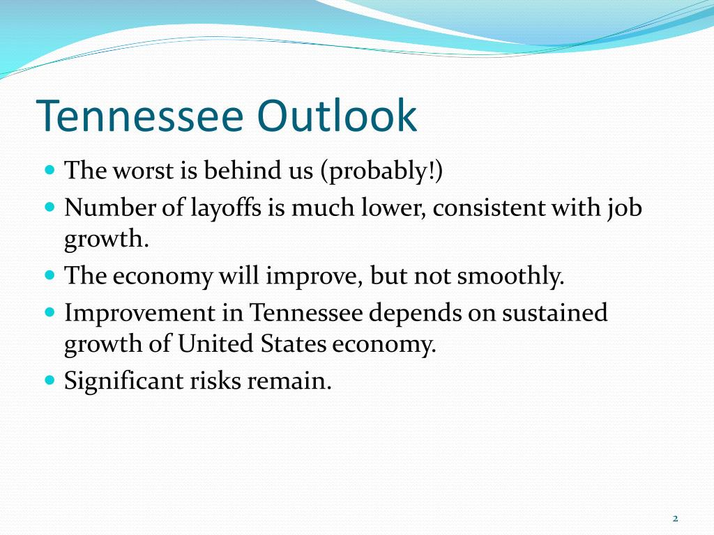 Tennessee Outlook