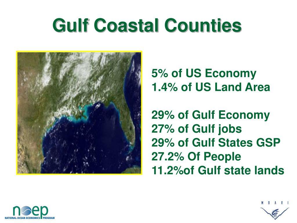 Gulf Coastal Counties