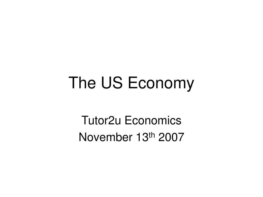 the us economy