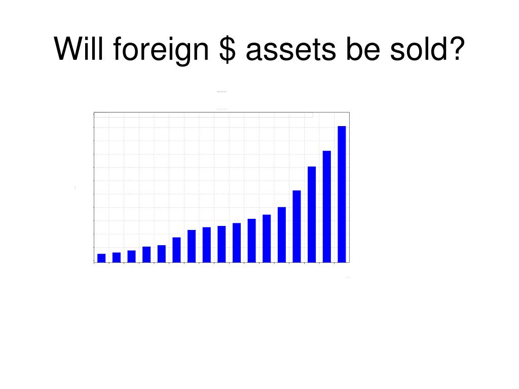 Will foreign $ assets be sold?