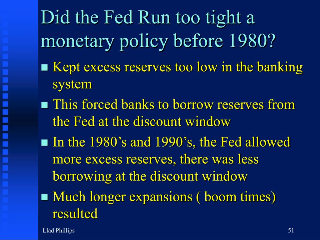 Did the Fed Run too tight a monetary policy before 1980?