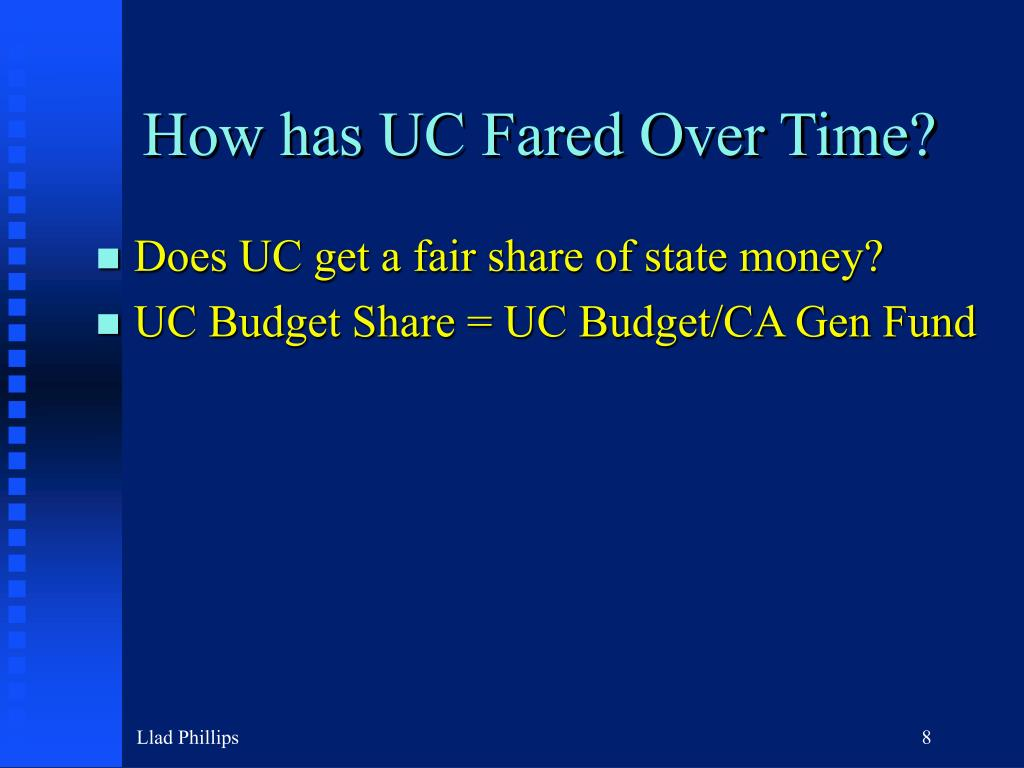 How has UC Fared Over Time?
