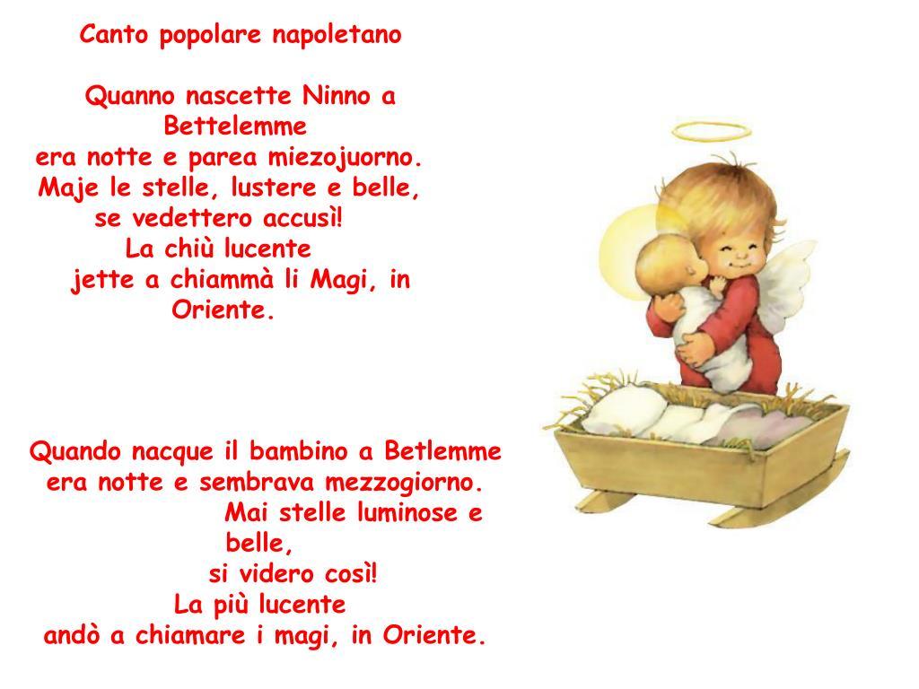 Canto popolare napoletano