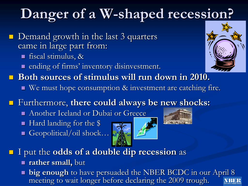 Danger of a W-shaped recession?