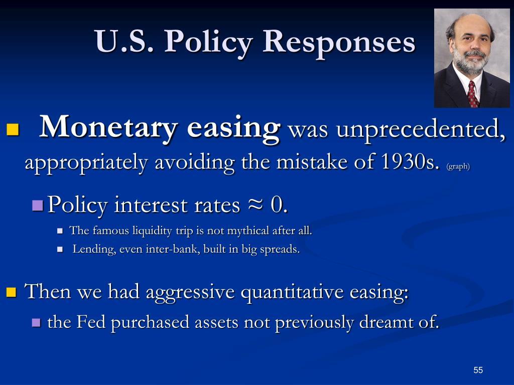 U.S. Policy Responses