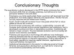 conclusionary thoughts