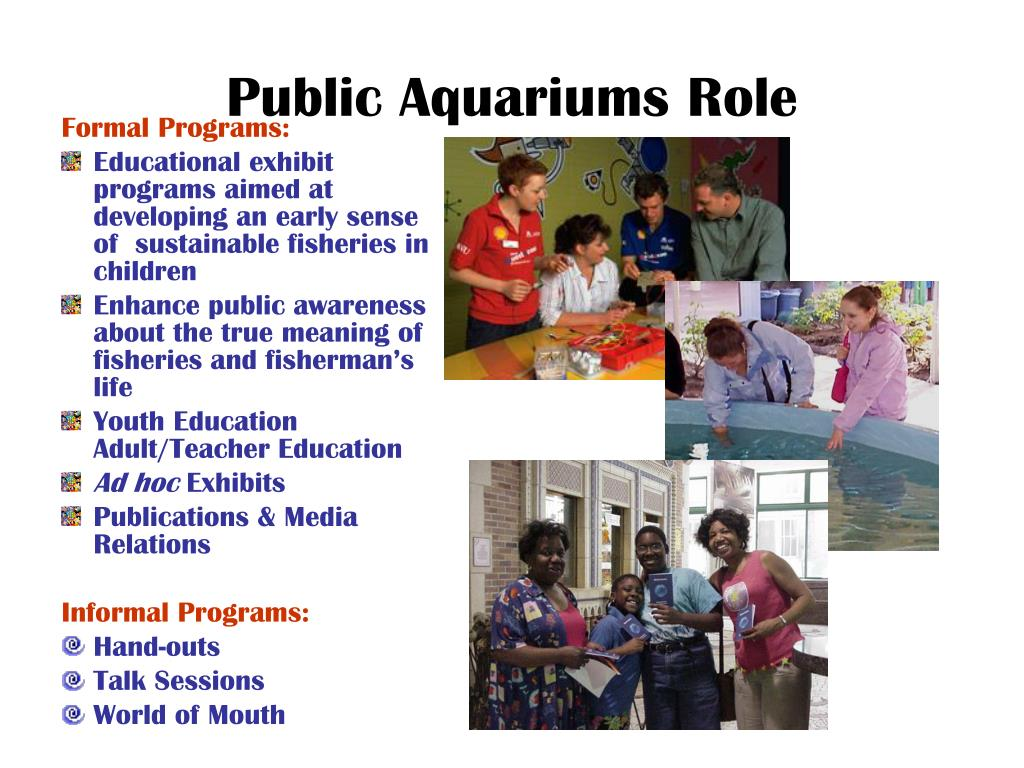 Public Aquariums Role