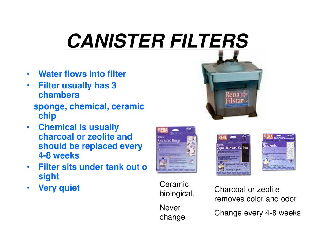 CANISTER FILTERS