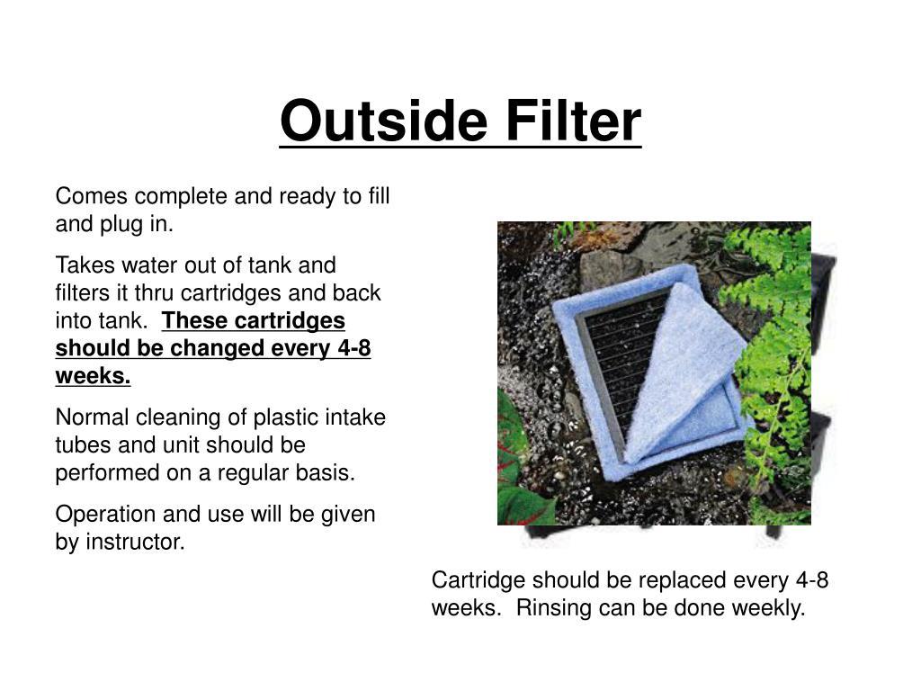 Outside Filter