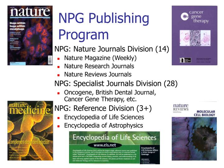 NPG Publishing