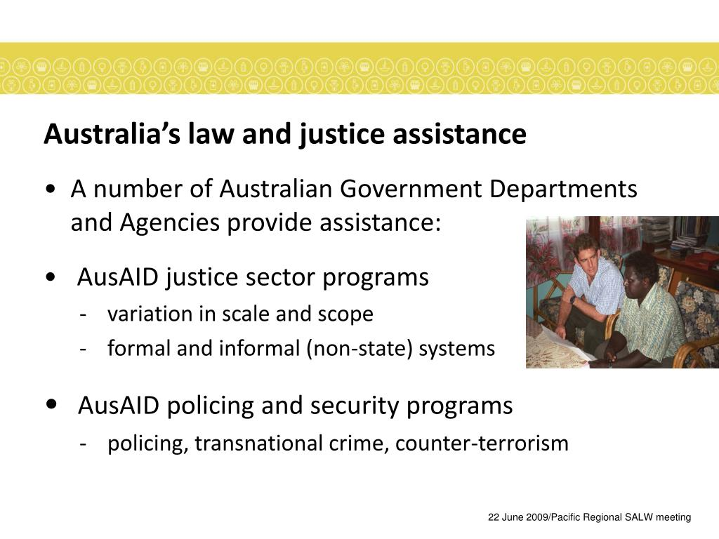 Australia's law and justice assistance