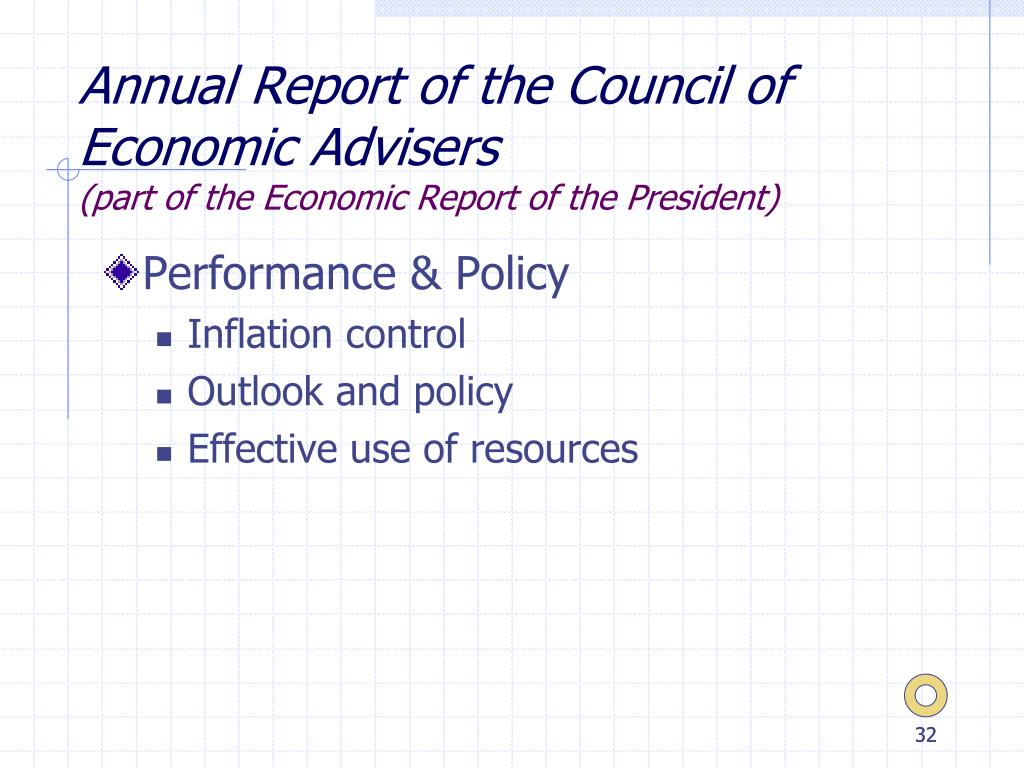 Annual Report of the Council of Economic Advisers