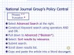 national journal group s policy central50