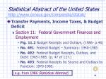 statistical abstract of the united states http www census gov compendia statab21