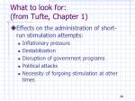 what to look for from tufte chapter 128